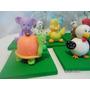 Animales De La Granja. Porcelana Fria Souvenirs Cumpleaños