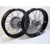 Roda Xre Super Motard 17 X 300 + 17 X 425 Aluminio Par