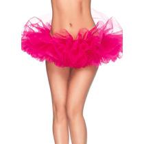 Tutu Rosa Perfecto P/ Disfraz Halloween Cosplay Ballet Hada