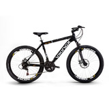Bike Quadro 19 Aluminío Vikingx Aro 26 21v Kit Shimano Disco