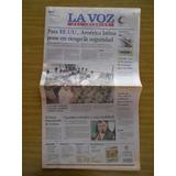 Diario La Voz Del Interior - 22/10/2003