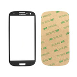 Cristal Vidrio Gorilla Glass Negro Galaxy S3 Mini I8190