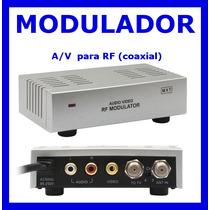 10 Mini Modulador Rf!!! Frete Grátis