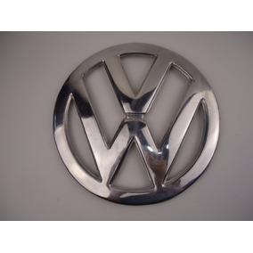 Emblema Frontal Redondo Aluminio Kombi Luxo Vovozinha Metal