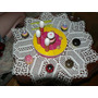 Juguete Madera Desarmable Tematico Torta Muffins Cumpleaños
