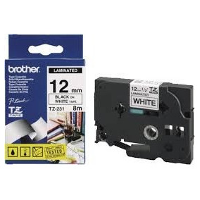 Cinta Brother Tz 231 12mm 8 Mts Tz231 Laminada Original