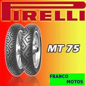 Cubierta 130 70 17 Pirelli Mt 75 En Franco Motos En Moreno