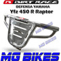 Defensa Dirt Race Cromada Yfz 450 R Raptor - Mg Bikes
