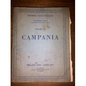 Guía Turística Italiana De Campania - 1936