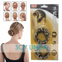 Hebilla Hairagami Peinados Cabello Glamour Look Animal Print