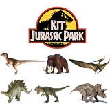 Brinquedo Científico- Kit Jurassic Park Escavação- 7 Fósseis