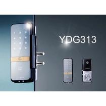 Cerradura Chapa Digital Para Puerta De Vidrio Yale Ydg313