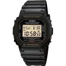 Relógio Casio G-shock Dw-5600eg Alarme Wr-200 Serie Ouro Nfe