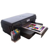 Impresora A3+ Hp 7110 Sistema Continuo + Tinta Alemana Ocp