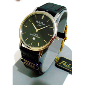 Reloj Philip Persio Dama Original Mod Ultraplano Contra Agua