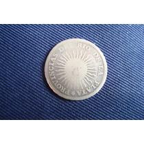 Provincias Unidas 1 Real 1813,j. De Plata, Moneda Muy Escasa
