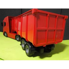 Caminhão Carreta Caçamba Comp=50cm Larg=12cm Altura=16cm