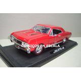 Chevrolet Chevelle Ss 396 1967 - Clasico - Motormax 1/18