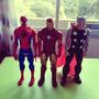 Marvel Figuras Hasbro Hombre Araña, Iron Man Y Thor.