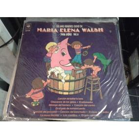 Disco Vinilo M Elena Walsh Grandes Exitos Vol 2 ¬ La Plata