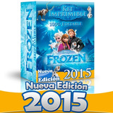 Kit Imprimible Frozen Completo Invitaciones Editables