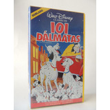 Filme Vhs - Disney - 101 Dálmatas - Dublado (r 13)