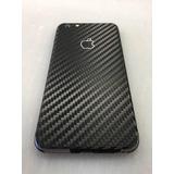 Capa Skin Película Adesivo Fibra Carbono Iphone 6 6s 7 Plus