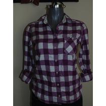Blusas American Eagle Flannel Shirts M-l Original