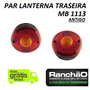 Lanterna Traseira Caminhão Mb 1113 1111 Antigo (kit 02 Unid)