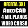 Programa Autocad + Planos Y Librerías + Curso 2d-3d