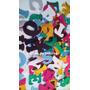 Letras En Goma Eva Con Glitter-importado!! X83 Unid
