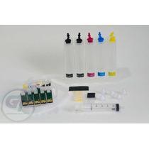 Bulk Ink Impressora T1110 , T33 E Tx515 Com Botão De Reset