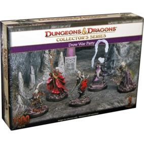 Drow War Party - Miniaturas Dungeons & Dragons D&d Rpg