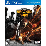 Infamous Second Son Ps4 Nuevo Original Domicilio