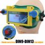 Óculos De Solda Escurecimento Automático Regulagem Din 9 13