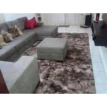 Tapete Carpete Sala Quarto Peludo Pelo Alto 2,00x2,40 Felpud