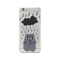 Funda Para Iphone 6s 6 Gato - Miau - Nube