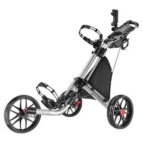 Caddytek Ez-fold De 3 Ruedas De Empuje Del Carro De Golf, P