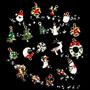 Navidad Somán Diy Decoración Árboles Botas Deers Bells Deco