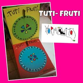 Juego Del Tuti Fruti ( De Madera)