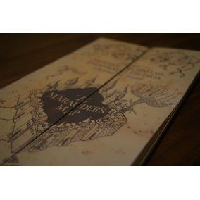 Mapa Del Merodeador Harry Potter - Copia Fiel Del Original