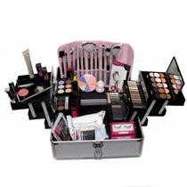 Maleta + Maquiagem Completa Vult Ruby Rose E Brindes