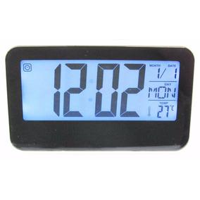 Reloj Despertador Digital Números Grandes Luz Led Fechador