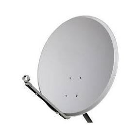 Antena Parabólica Banda Ku 60cm - Kit Completo Lnb Simples