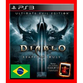 Diablo 3 Reaper Of Souls - Ps3 Codigo Psn Portugues Br