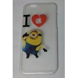 Capa Capinha Case Iphone 6 - Minions - Meu Malvado Favorito