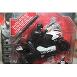 Figura Muñeco Robocop 3.0 Moto Policía Escala 1:18 Colección