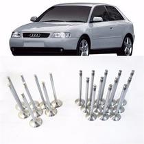 20 Pcs Válvula Admissão E Escape Audi A3 1.8 20v Aspirada