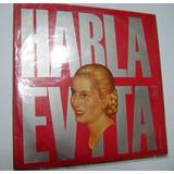 Vinilo Sin Uso Original Habla Evita 1973 Ed Reconstruccion
