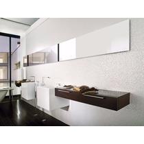 Revestimiento Ceramico Venis Cubica Blanco 33,3x100 Rectf.